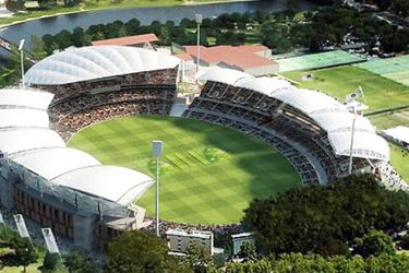 The picturesque Adelaide Oval.