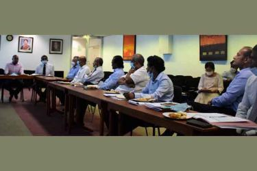 A meeting of the Joint Committee of the SEC and the CSE with Stock brokers