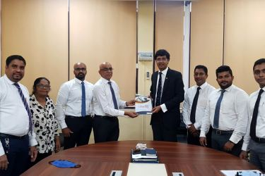 Union Assurance team met with the newly appointed Secretary of BASL, Rajeev Amarasuriya.