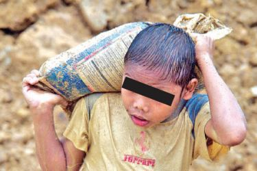 There are an estimated 152 million children across the world in child labour.