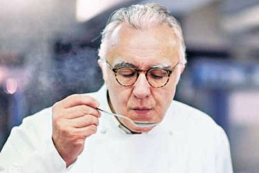 French superchef Alain Ducasse