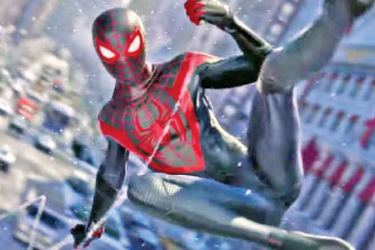 The new Spiderman game for PS5