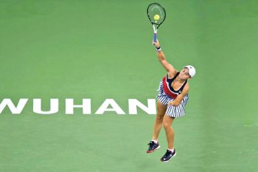 Wuhan Open tennis 'hugely symbolic' for coronavirus-scarred city. - AFP