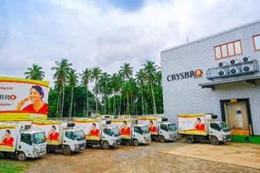Crysbro's temperature controlled distribution facility and  marketing office in Kaduwela