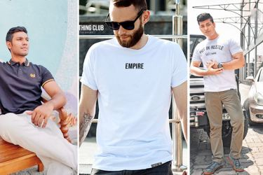 Some foreign models clad in Empire clothing