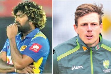 Lasith Malinga and James Pattinson