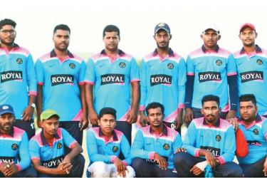 Royal Knights Sports Club players wearing the new jersey