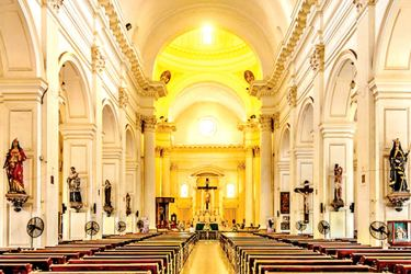 Inside St. Lucia's Cathedral