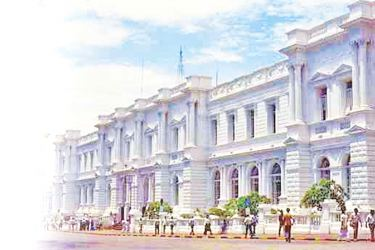 The old General Post Office, Colombo