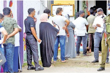 Voters gave a two thirds majority to the present Government on August 5, 2020. Picture by Sulochana Gamage