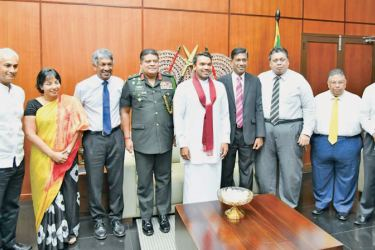 The newly appointed National Sports Selection Committee along with Sports Minister Namal Rajapaksa