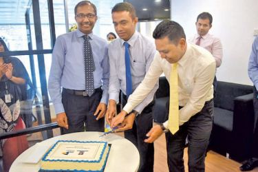 Opening of the relocated HNBGI Customer Relations Management Center.