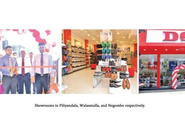 Showrooms in Piliyandala, Walasmulla, and Negombo respectively.