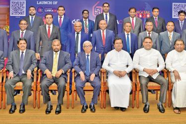 Special invitees, Governor CBSL and Sampath Bank and other official at the event