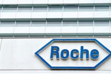 Swiss pharmaceuticals giant Roche.