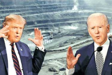 Trump and Biden go all guns blazing with less than three weeks to go for the US Presidential Election.
