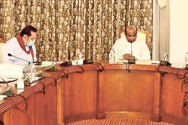 The Parliamentary Council met yesterday to discuss appointments to the Supreme Court under the patronage of Speaker Mahinda Yapa Abeywardena, Prime Minister Mahinda Rajapaksa, Opposition Leader Sajith Premadasa, Minister Douglas Devananda and MP Kabir Hashim.
