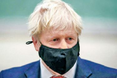 Boris Johnson is in self-isolation after being notified by NHS Test and Trace that he came into contact with a person who tested positive for COVID-19.