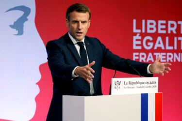 "French President Emmanuel Macron has announced a law against religious ""separatism""."