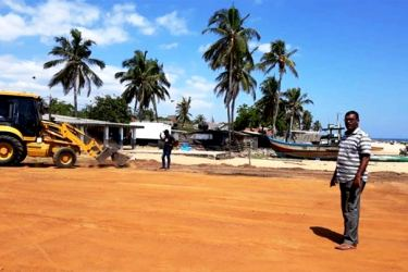 Development work continues at Kalmunai Beach Play Ground