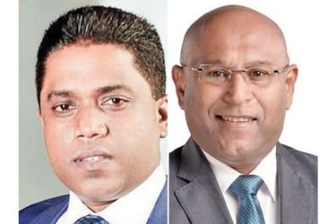 Chairman Eshana de Silva Group and CEO Dimantha Seneviratne