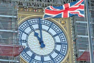 Big Ben bonged to mark Brexit at Midnight on December 31, 2019.