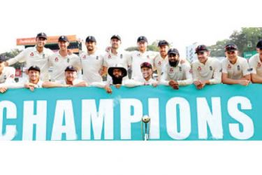 The England team which won the last series against Sri Lanka 3-0