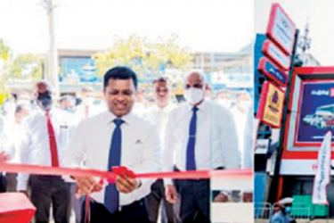 Officials of Vallibel Finance open the branches at Ja-Ela and Thambuththegama