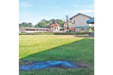 Dilapidated Pothupitiya MV ground