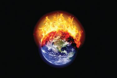 The world will have to focus primarily on the potential catastrophic dangers of global warming.