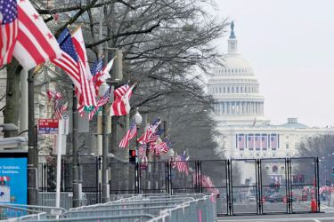 The National Mall in Washington DC will be closed to the public on Inauguration Day over major security concerns.