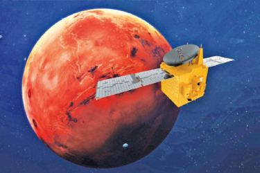 The Hope Probe is scheduled to reach the Martian Orbit today.