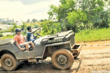 Nirvana has a passion for Motorcross and 4x4 events