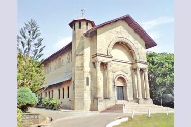 The chapel of the Transfiguration at S.Thomas' College, Mount Lavinia