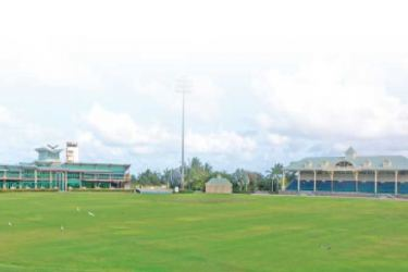The Coolidge Cricket Ground will host an international game by the West Indies Men's Team for the first time