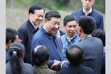 """President Xi Jinping called for """"targeted poverty alleviation"""", demanding tailor-made solutions for different villages and groups."""