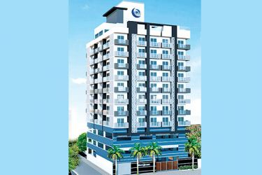 A luxury apartment built by Blue Ocean Group