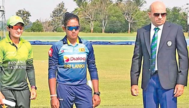 Wendell Labrooy makes his debut as ICC Match Referee in the Sri Lanka v Pakistan Women's ODI series