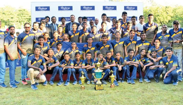 Boys' overall winners St Peter's College Colombo