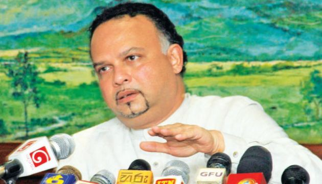 Minister Navin Dissanayaka  Picture by Roshan Pitipane