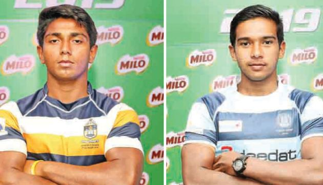 Peterite skipper Bilal Hilmy and Wesley skipper Musheed Zubair