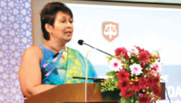Aruni Rajakarier, Chairperson of the CA Sri Lanka Women Empowerment and Leadership Development Committee