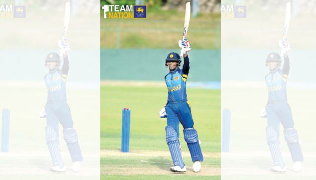 Nipun Dananjaya helped Sri Lanka U19 recover from 95/6 to 234/9 with a captain's knock of 91 not out against West Indies U19.