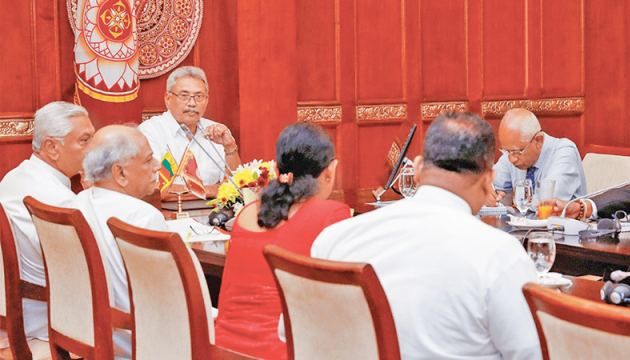 President Gotabaya Rajapaksa instructed officials to explore indigenous and Western medicine remedies to fight coronavirus.