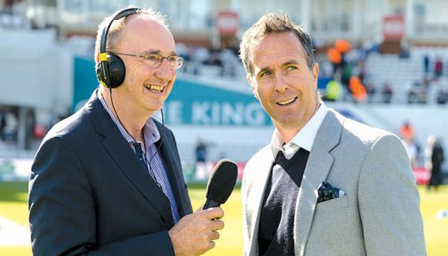 The BBC are reportedly close to finalising a deal for the rights to broadcast the Sri Lanka series. BBC commentators Jonathan Agnew and Michael Vaughan.