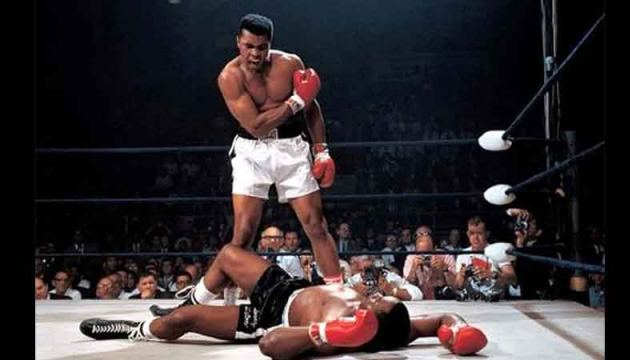 Boxing legend Muhammad Ali, who died in 2016, was even back in action, beating Sonny Liston in a virtual bout with 35,000 YouTube viewers.