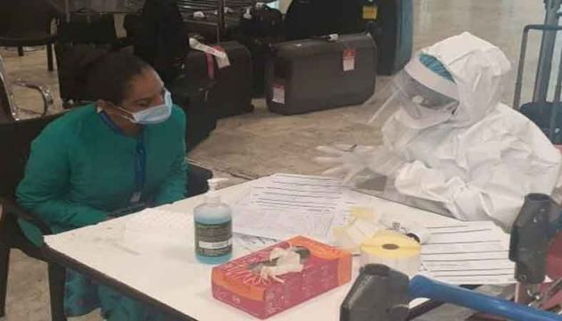 PCR tests carried out at the Katunayake International Airport