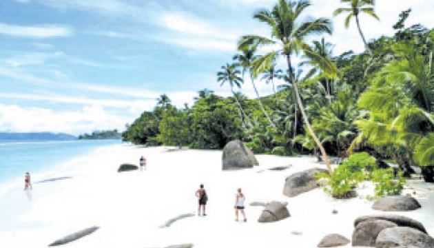 Tourism contributes around 25 percent to the Seychelles GDP.
