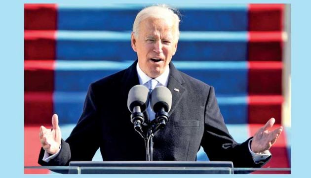 Joe Biden has been sworn in as the 46th US President.