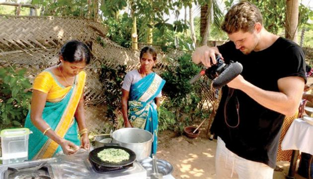 Capturing traditional cooking of the Northern Province